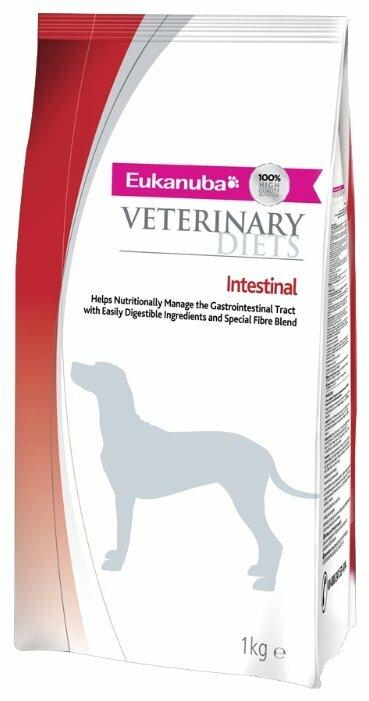 Корм для собак Eukanuba Veterinary Diets при болезнях ЖКТ 1 кг