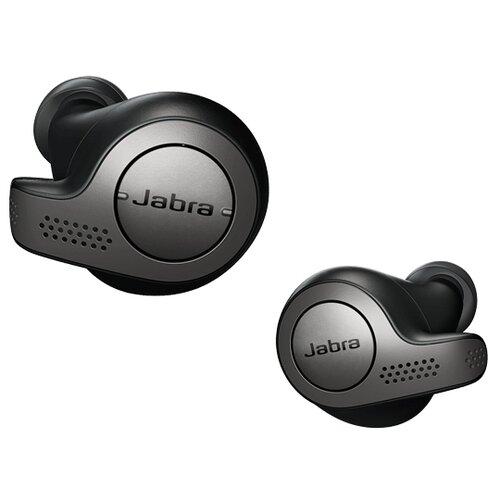 цена на Беспроводные наушники Jabra Elite 65t титаново-черный