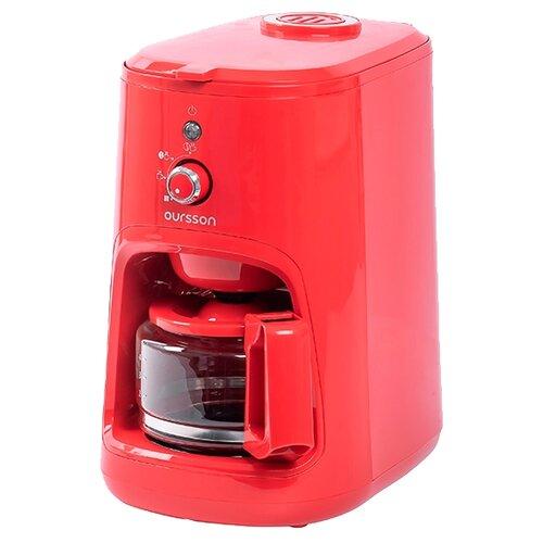Фото - Кофеварка Oursson CM0400G, красный кофеварка oursson cm0400g оранжевый