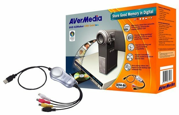 AVerMedia Technologies DVD EZMaker USB Gold