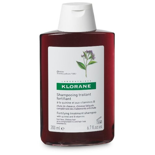 Klorane шампунь Strengthening&Revitalizing with quinine and B vitamins 200 млШампуни<br>