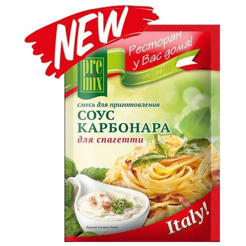 PreMix Смесь для приготовления Соус Карбонара для спагетти, 30 г