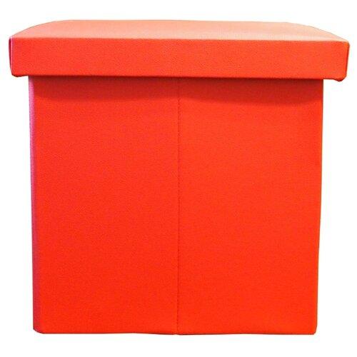 Пуфик с ящиком для хранения Тематика складной искусственная кожа красный пуфик с ящиком для хранения удачная покупка ryp56 38 искусственная кожа черный