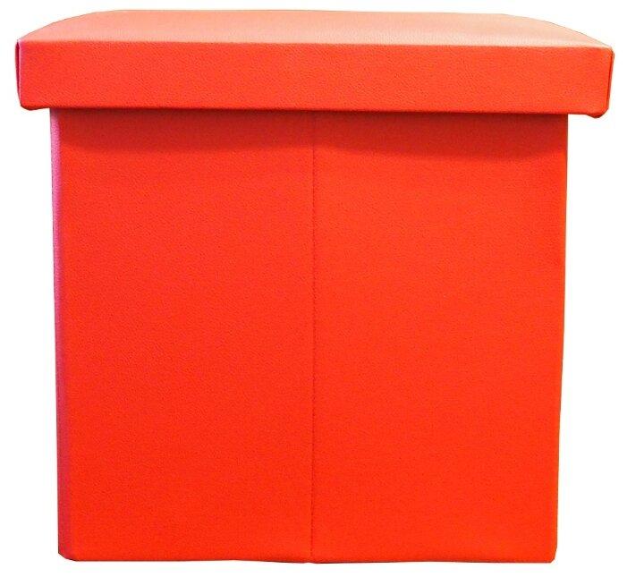 Пуфик с ящиком для хранения Тематика складной искусственная кожа
