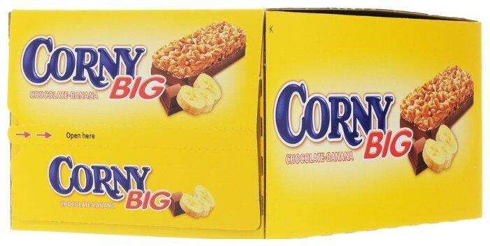 Злаковый батончик Corny Big Choco-Banana с бананом и шоколадом, 24 шт