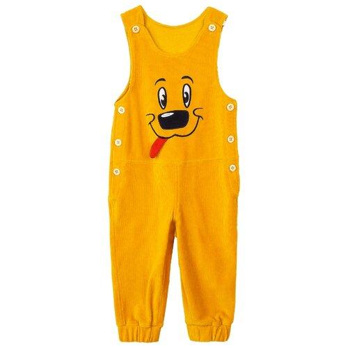 Полукомбинезон playToday 397055 размер 92, желтый