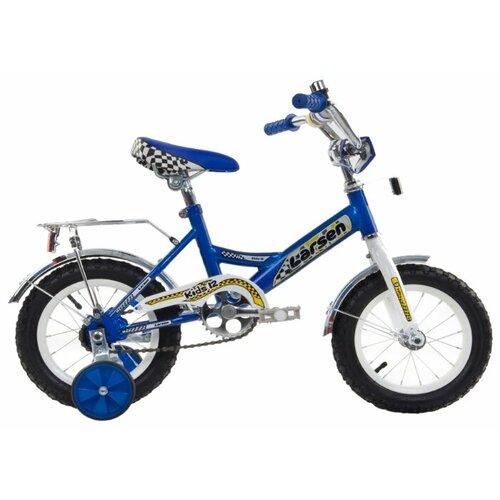 цена на Детский велосипед Larsen Kids 12 (2016) синий (требует финальной сборки)