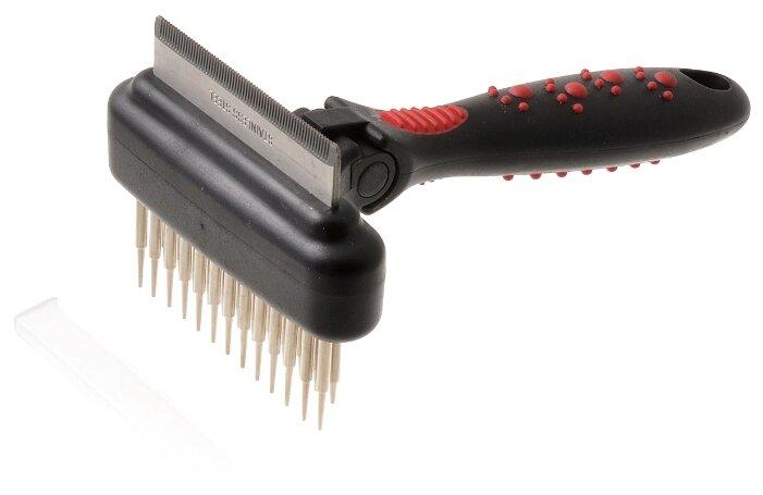 Фурминатор Hello PET 48065S черный/красный