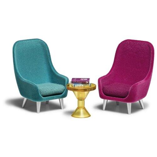 Купить Lundby Набор кресел (LB_60305900) зеленый/розовый, Мебель для кукол