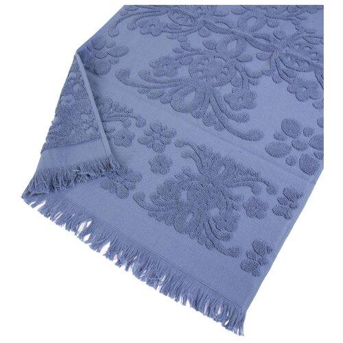 Arya Полотенце с бахромой Isabel Soft банное 70х140 см голубой полотенце банное ecotex авеню голубой серый