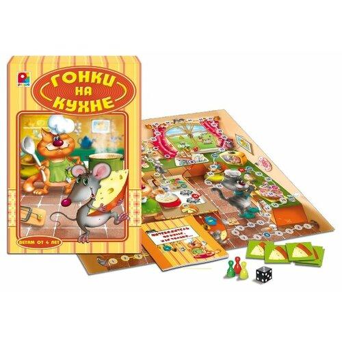 Настольная игра Радуга Гонки на кухне С-714