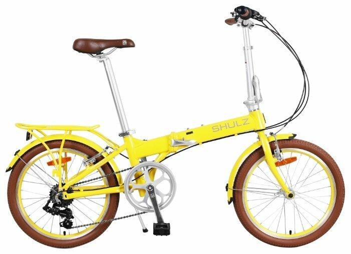 Велосипед Shulz Easy (2020) Желтый