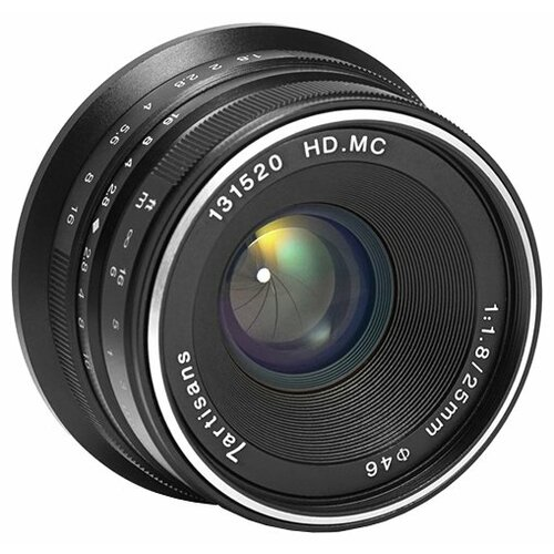 Фото - Объектив 7artisans 25mm f/1.8 Sony E объектив 7artisans e mount 35 mm f 2 0 17979