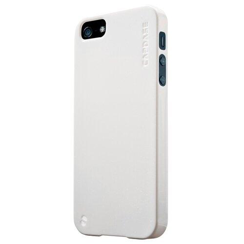 Чехол-накладка Capdase Jacket Sparko для Apple iPhone 5/iPhone 5S/iPhone SE белый чехол для iphone 5 iphone 5s iphone se brosco soft rubber накладка черный