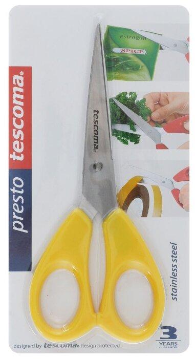 Ножницы домашние Tescoma Presto, 16см, зелёные
