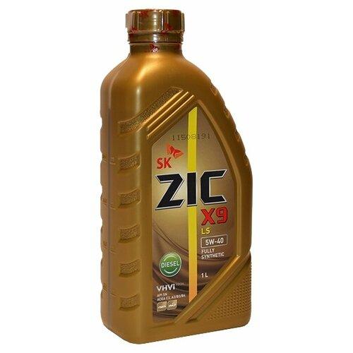 Фото - Моторное масло ZIC X9 LS DIESEL 5W-40 1 л моторное масло zic x9 ls 5w 30 4 л