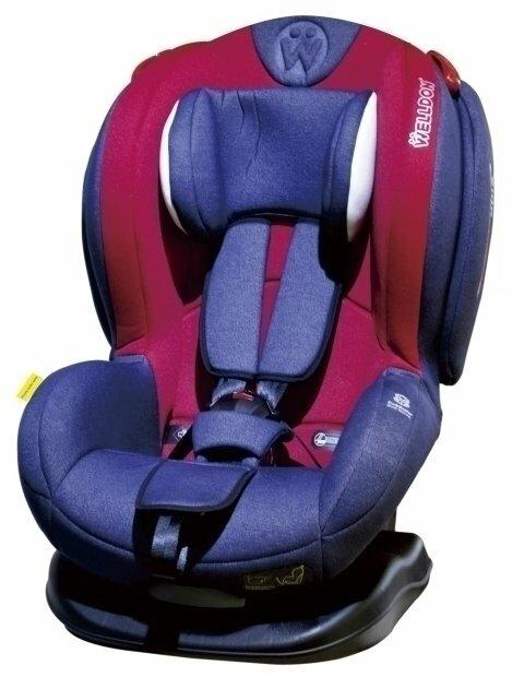 Автокресло группа 1/2 (9-25 кг) Welldon Royal Baby SideArmor & CuddleMe