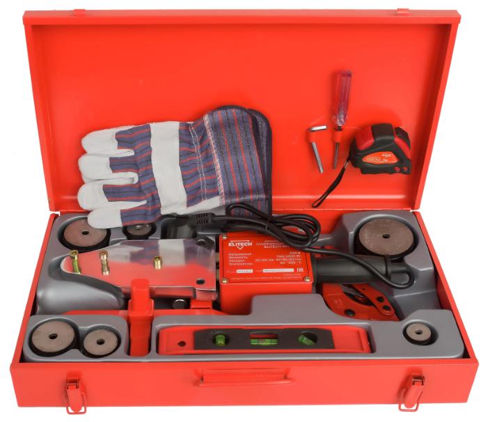 Аппарат для раструбной сварки ELITECH СПТ 1500