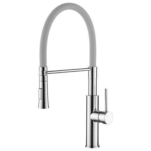 Смеситель для кухни (мойки) Ledeme L4097-x однорычажный хром/серый фото