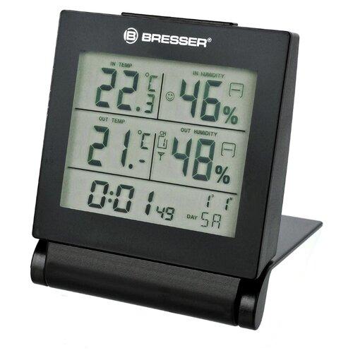 Метеостанция BRESSER MyTime Travel Alarm Clock черный