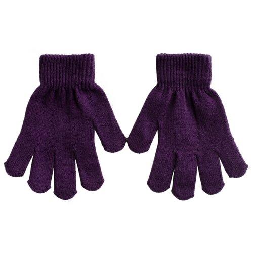 Купить Перчатки playToday размер 14, фиолетовый, Перчатки и варежки