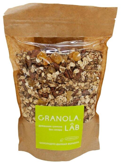 Гранола Granola.Lab хлопья Шоколадно-дынная формула, дой-пак, 400 г