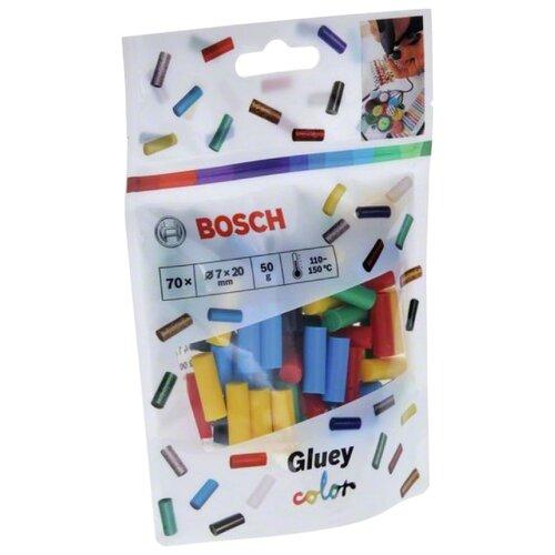 BOSCH Gluey Color 7х20 мм, 70 шт 2608002005
