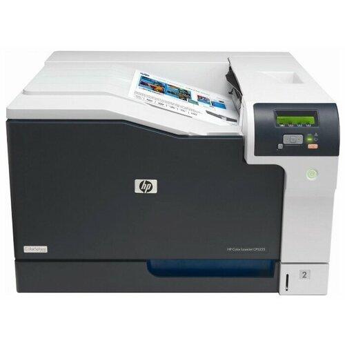 Принтер HP Color LaserJet Professional CP5225n (CE711A) бело-черный принтер hp color laserjet professional cp5225 ce710a цветной a3 20ppm