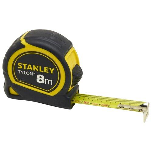 Измерительная рулетка STANLEY Tylon 0-30-657 25 мм x 8 м шнур меловой разметочный stanley 30 м