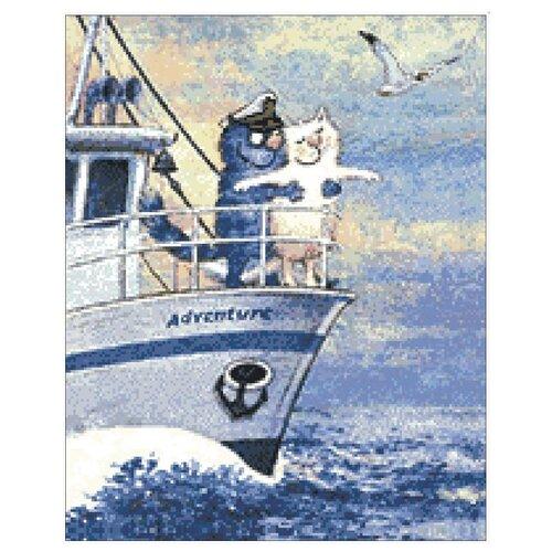 Купить Гранни Набор алмазной вышивки Морское приключение (ag2255) 40x50 см, Алмазная вышивка