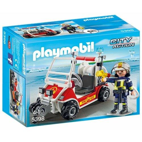 Набор с элементами конструктора Playmobil City Action 5398 Пожарный квадроцикл