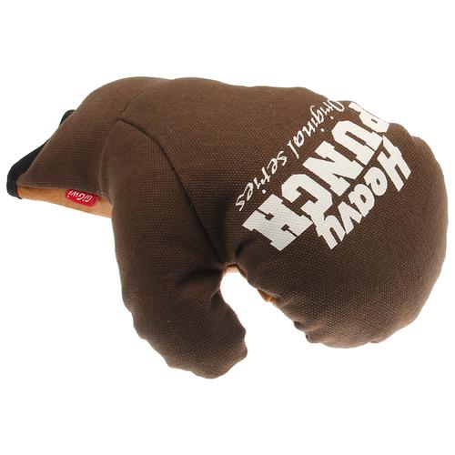 Игрушка для собак GiGwi Heavy Punch Боксерская перчатка (75435) коричневый