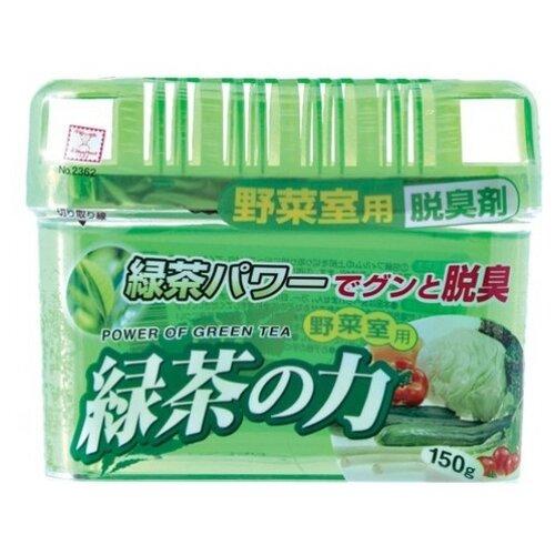 Kokubo поглотитель запахов для овощного отделения холодильника Зеленый чай, 150 гр