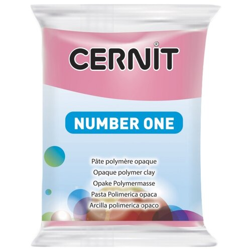 Купить Полимерная глина Cernit Number one фуксия (922), 56 г, Глина