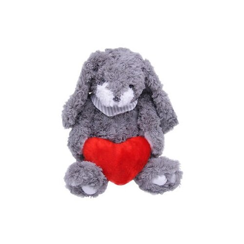Мягкая игрушка Magic Bear Toys Заяц Гарольд с сердцем 26 смМягкие игрушки<br>
