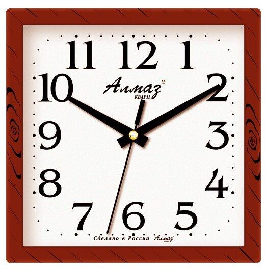 Часы настенные кварцевые Алмаз M03/M05 — купить по выгодной цене на Яндекс.Маркете