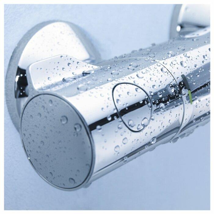 Смеситель для ванны с душем Grohe Grohtherm 800 34567000 двухрычажный с термостатом хром