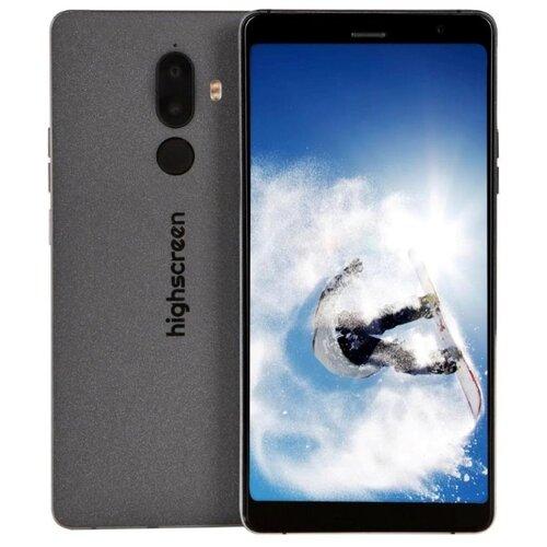 Смартфон Highscreen Power Five Max 2 4/64GB черный highscreen power five max 2 4 64gb черный