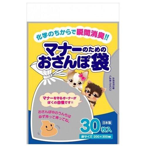 Пакеты для выгула для собак Japan Premium Pet 762885 20х30 см 30 шт.