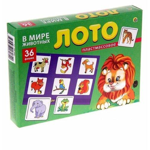 Купить Настольная игра Рыжий кот В мире животных ИН-8082, Настольные игры