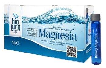 Напиток Biolong Magnesia природный магнезиальный пищевой концентрат фл. N30 25 мл