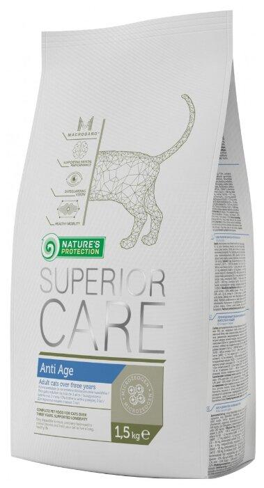 Nature's Protection Корм для кошек Nature s Protection Superior Care Anti Age