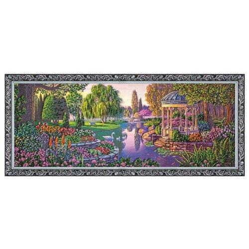 Купить ABRIS ART Набор для вышивания бисером У пруда 80 х 30 см (AB-179), Наборы для вышивания