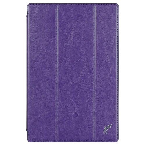 Чехол G-Case Slim Premium для Sony Xperia Tablet Z4 фиолетовый аксессуар чехол activ for sony xperia z4 hicase силиконовый gold 48133