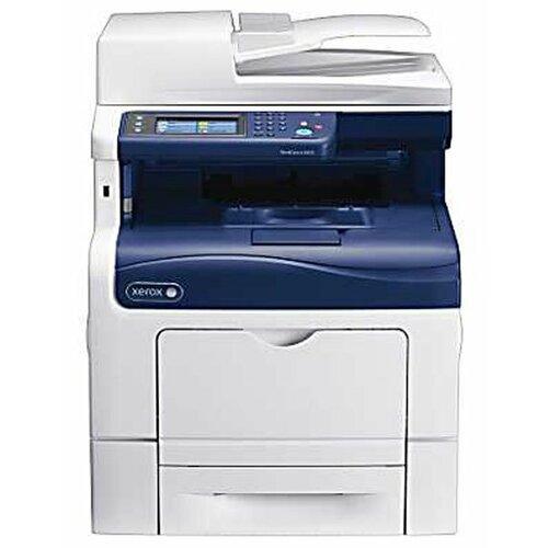 Фото - МФУ Xerox WorkCentre 6605N, белый/cиний мфу xerox workcentre 6515n белый синий