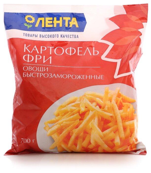ЛЕНТА замороженный картофель фри замороженный 700 г