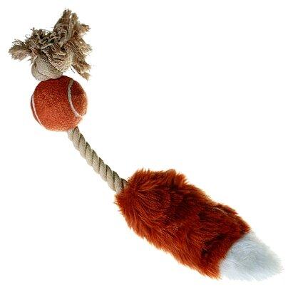 Игрушка для собак GiGwi Dog Toys Лисий хвост без набивки (75074)
