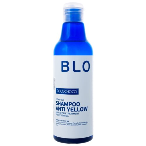 CocoChoco шампунь Blonde Anti Yellow для блондированных волос 250 мл