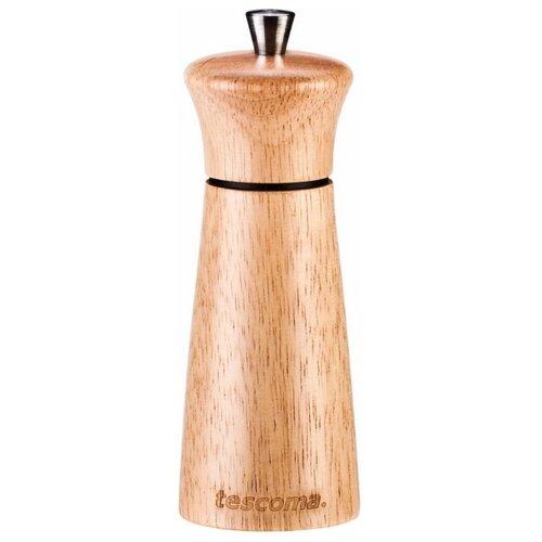 Tescoma Мельница для перца/соли Virgo Wood 14 см светлое дерево мельница для перца метаltex 10 см маленькая сталь дерево