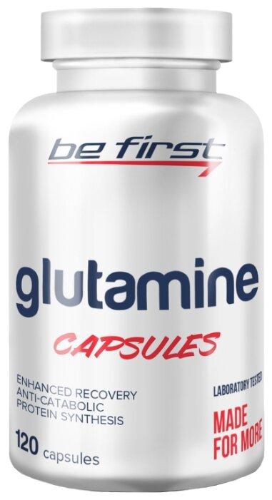 Аминокислота Be First Glutamine Capsules (120 шт.)